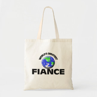 World's Greatest Fiance Budget Tote Bag