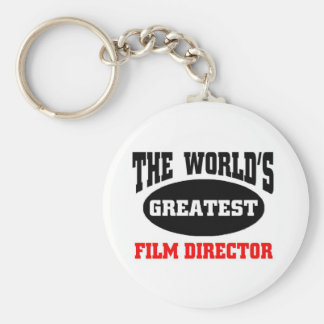 World's greatest film director key chains