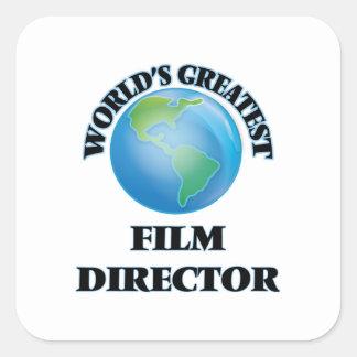 World's Greatest Film Director Square Sticker