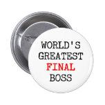 World's Greatest Final Boss Button