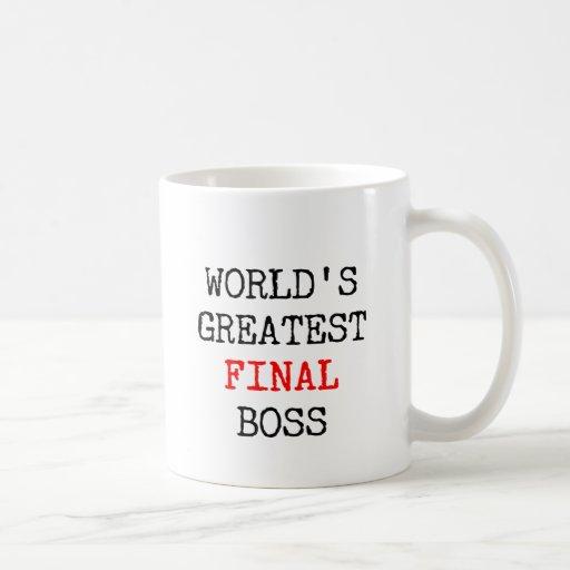 World's Greatest Final Boss Coffee Mug