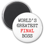 World's Greatest Final Boss Magnet