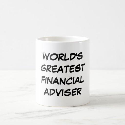 """World's Greatest Financial Adviser"" Mug"