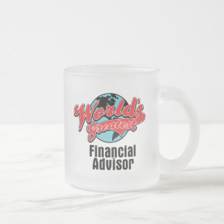 Worlds Greatest Financial Advisor Coffee Mugs