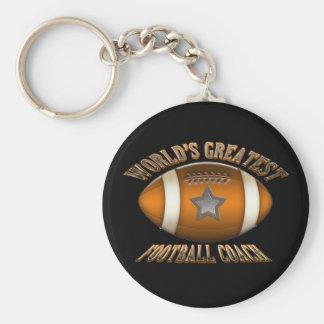World's Greatest Football Coach Key Ring