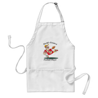 World's Greatest Football Player Standard Apron