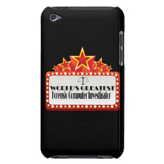 World's Greatest Forensic Computer Investigator iPod Touch Case-Mate Case