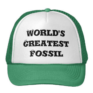 World's Greatest Fossil Cap