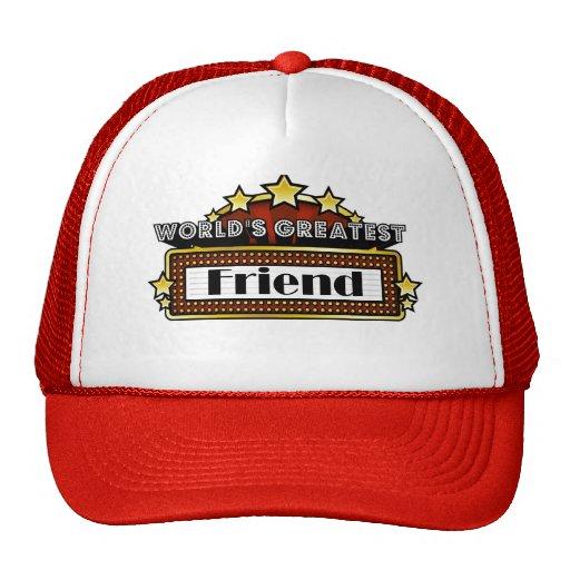 World's Greatest Friend Mesh Hat