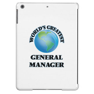 World's Greatest General Manager iPad Air Case