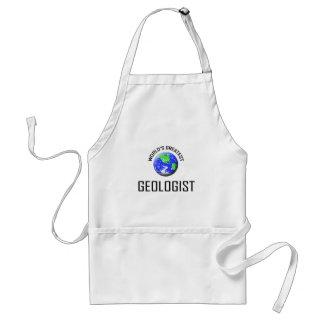 World's Greatest Geologist Standard Apron