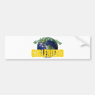 World's Greatest Girlfriend Bumper Stickers