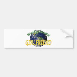World's Greatest Girlfriend Bumper Sticker