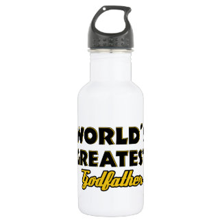 World's greatest Godfather 532 Ml Water Bottle
