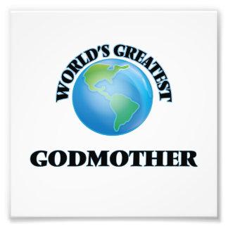 World's Greatest Godmother Art Photo