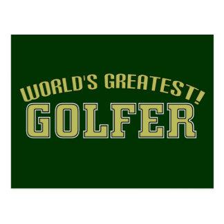 World's Greatest Golfer! Postcard