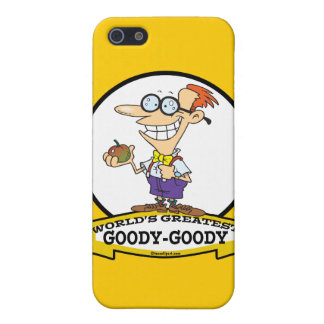 WORLDS GREATEST GOODY GOODY CARTOON CASE FOR iPhone 5/5S