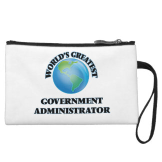 World's Greatest Government Administrator Wristlet Purse
