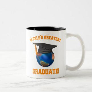 World's Greatest Graduate Two-Tone Mug