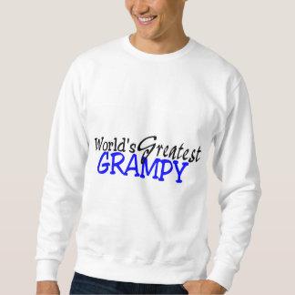 Worlds Greatest Grampy Blue Black Sweatshirt