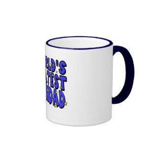 World's Greatest    Grandad Ringer Mug