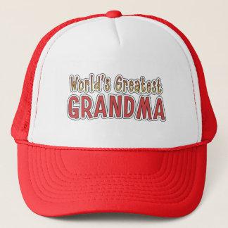 World's Greatest Grandma word art hat