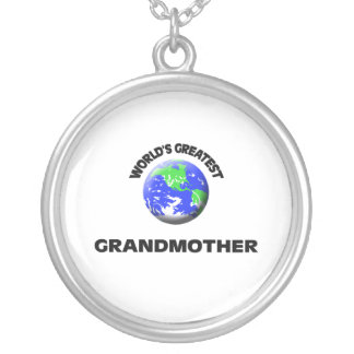 World's Greatest Grandmother Custom Necklace