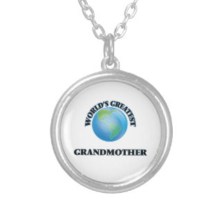 World's Greatest Grandmother Personalized Necklace