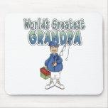 World's Greatest Grandpa Mousemat