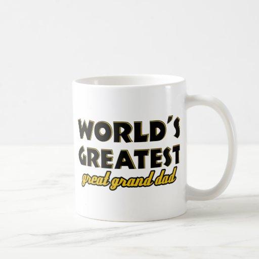 World's greatest great granddad mug
