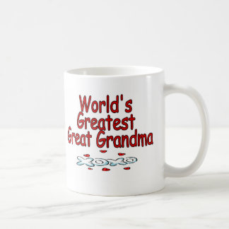 World's Greatest Great Grandma Coffee Mug