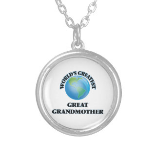 World's Greatest Great Grandmother Necklace