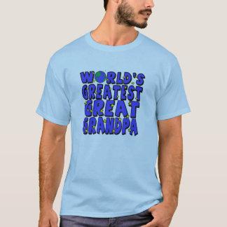 World's Greatest Great Grandpa T-Shirt
