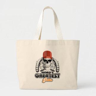 World's Greatest Griller v1 Jumbo Tote Bag