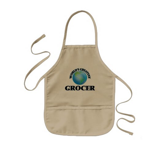 World's Greatest Grocer Apron