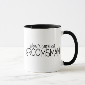 Worlds Greatest Groomsman Wedding Mug