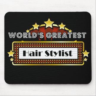World's Greatest Hair Stylist Mouse Pad
