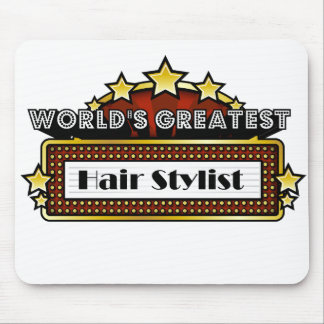 World's Greatest Hair Stylist Mouse Pads