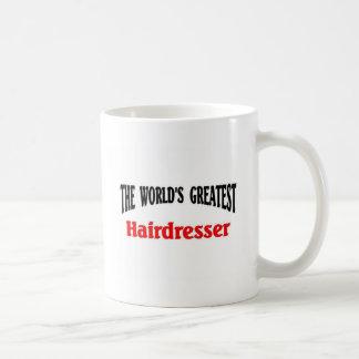 World's Greatest Hairdresser Basic White Mug