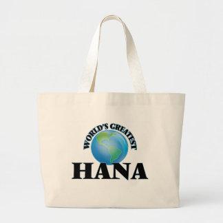 World's Greatest Hana Canvas Bags