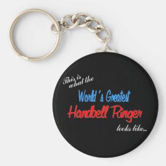 World's Greatest Handbell Ringer Key Ring