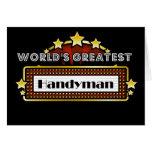 World's Greatest Handyman Card