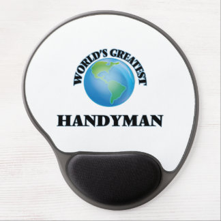 World's Greatest Handyman Gel Mouse Pads