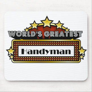 World's Greatest Handyman Mouse Pad
