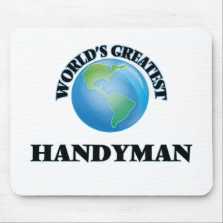 World's Greatest Handyman Mousepad