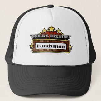 World's Greatest Handyman Trucker Hat