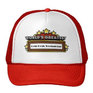 World's Greatest Help Desk Technician Trucker Hat