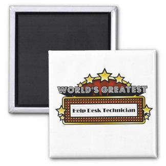 World's Greatest Help Desk Technician Magnet