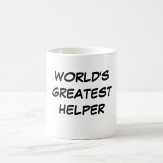 """World's Greatest Helper"" Mug"