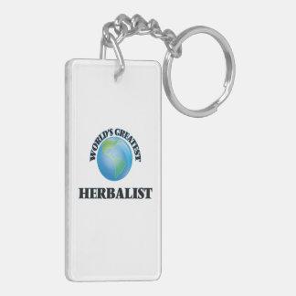 World's Greatest Herbalist Key Ring